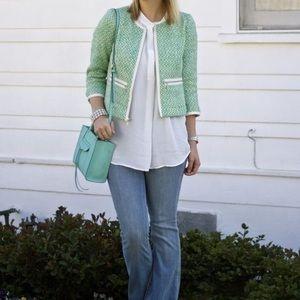 CAbi Style #726 Clover Tweed Jacket
